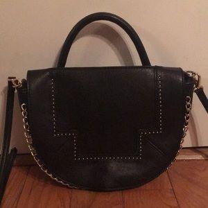 Danielle Nicole Chain-Embellished Shoulder Bag